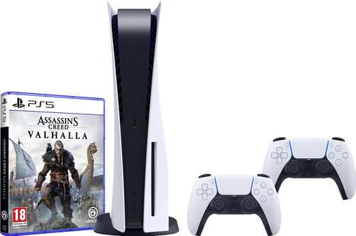 PlayStation 5 + Assassin's Creed: Valhalla PS5 + PlayStation 5 DualSense Controller Main Image