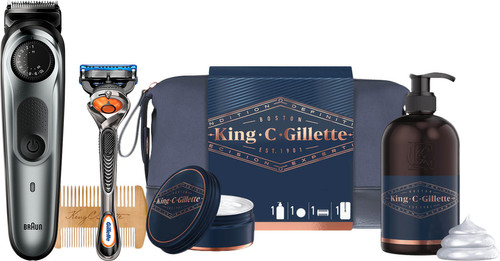 Braun BT7220 + King C. Gillette Geschenkset Main Image