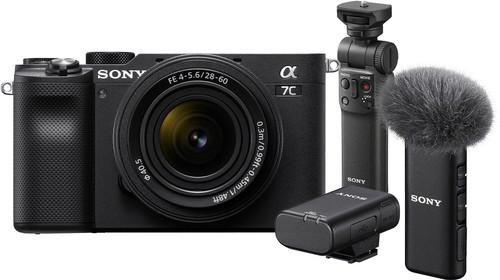 Sony A7C Zwart + 28-60mm f/4-5.6 Vlogkit Main Image