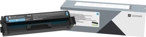 Lexmark CS431 / CX431 Toner Cyaan (Hoge Capaciteit) Main Image