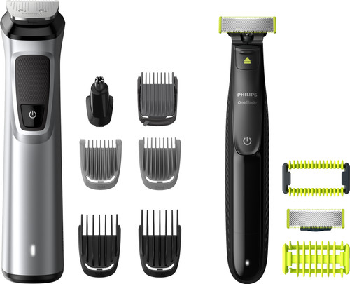 Philips Series 9000 MG9710/90 + Philips Oneblade Face + Body Main Image