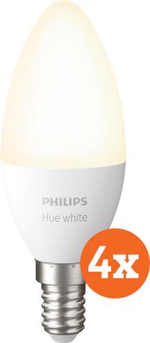 Philips Hue Kaarslamp White E14 Bluetooth 4-Pack Main Image