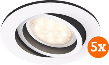 Philips Hue Milliskin inbouwspot White Ambiance Wit - rond 5 Main Image
