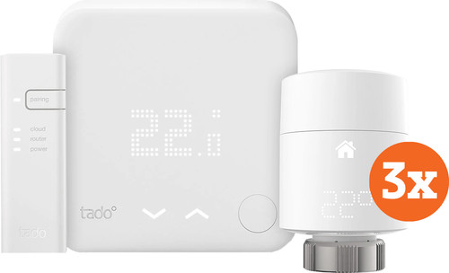Tado Slimme Thermostaat V3+ startpakket + 3 radiatorknoppen Main Image