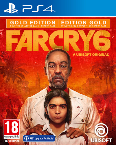 Far Cry 6 Gold Edition PS4 Main Image