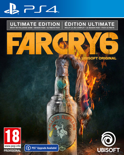 Far Cry 6 Ultimate Edition PS4 Main Image