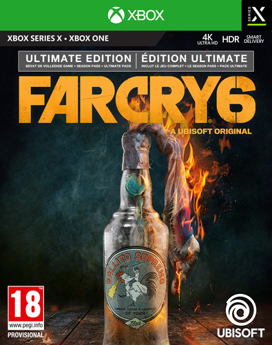 Far Cry 6 Ultimate Edition Xbox One en Xbox Series X Main Image
