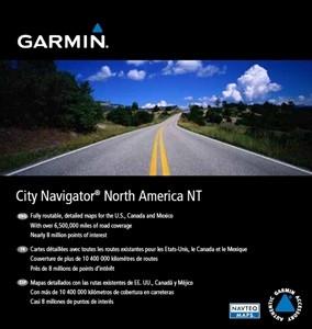 Garmin City Navigator NT Noord-Amerika & Mexico microSD Main Image
