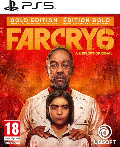 Far Cry 6 Gold Edition PS5 Main Image