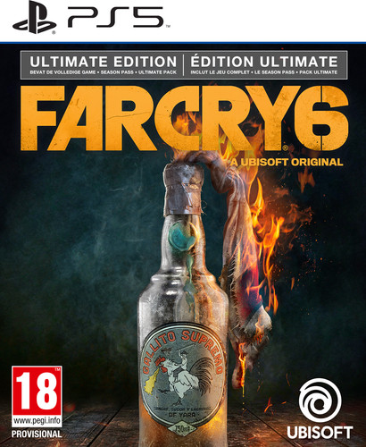 Far Cry 6 Ultimate Edition PS5 Main Image