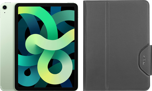 Apple iPad Air (2020) 10.9 inches 64GB WiFi + 4G Green + Targus VersaVu Book Case Main Image
