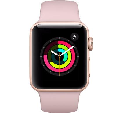 Refurbished Apple Watch Series 3 42mm Roségoud Main Image