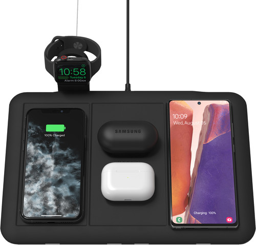 Mophie 5-in-1 Draadloze Oplader 10W met Houder voor Apple Watch Oplader Main Image