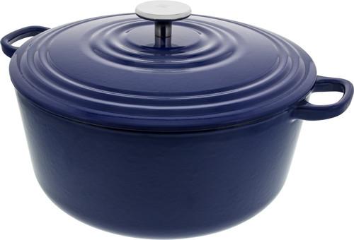 BK Bourgogne Braadpan 28 cm Royal Blue Main Image