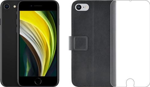 Apple iPhone SE 64GB Zwart + Azuri Beschermingspakket Main Image