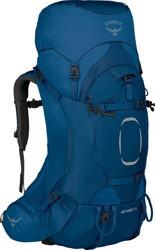 Osprey Aether S/M 55L Deep Water Blue Main Image
