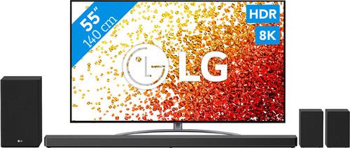 LG 8K 55NANO966PA (2021) + Soundbar Main Image