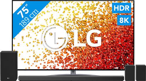 LG 8K 75NANO966PA (2021) + Soundbar Main Image