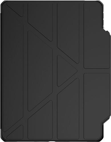 ITSkins Hybrid Solid Folio Apple iPad Air (2020) Book Case Zwart / Transparant Main Image