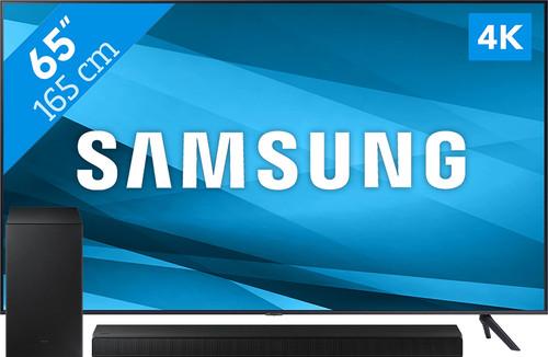 Samsung Crystal UHD 65AU7100  (2021) + Soundbar Main Image