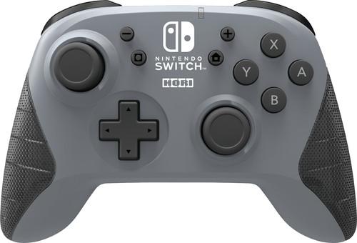 Hori Wireless Controller Grijs voor Nintendo Switch Main Image