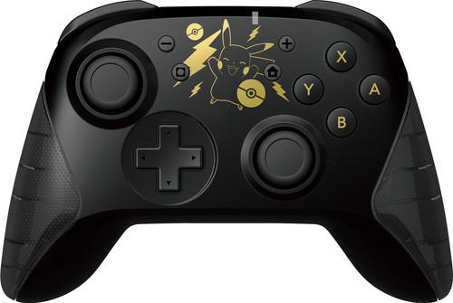 Hori Wireless Controller Pikachu Black & Gold voor Nintendo Main Image