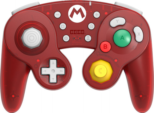 Hori Wireless Smash Bros Controller Mario voor Nintendo Switch Main Image