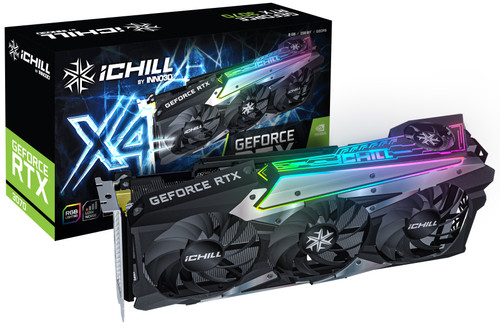 INNO3D GeForce RTX 3070 iCHILL X4 LHR Main Image