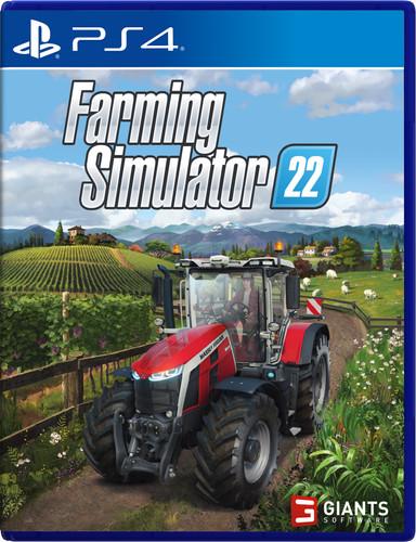 Farming Simulator 22 PS4 and PS5 Main Image