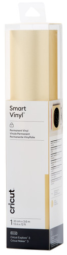 Cricut Smart Vinyl Permanent 33x366 Shimmer Goud Main Image