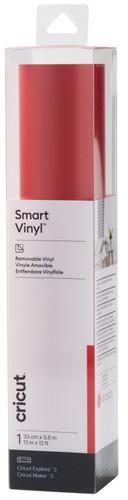 Cricut Smart Vinyl Verwijderbaar 33x366 Rood Main Image