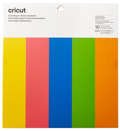 Cricut Smart Stickerkarton 33x33 5 Kleuren Main Image