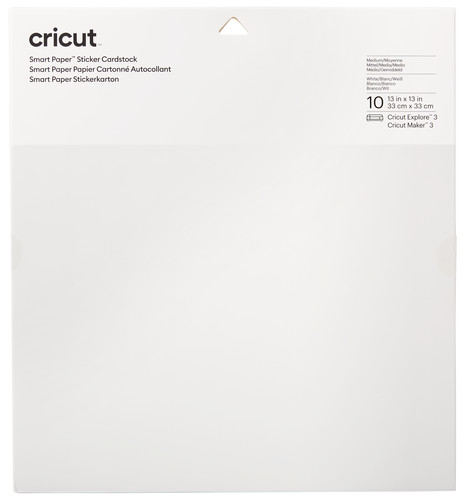 Cricut Smart Stickerkarton 33x33 Wit Main Image