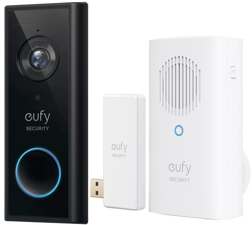 Eufy Video Doorbell Battery + Chime Main Image