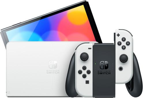Nintendo Switch OLED Wit Main Image