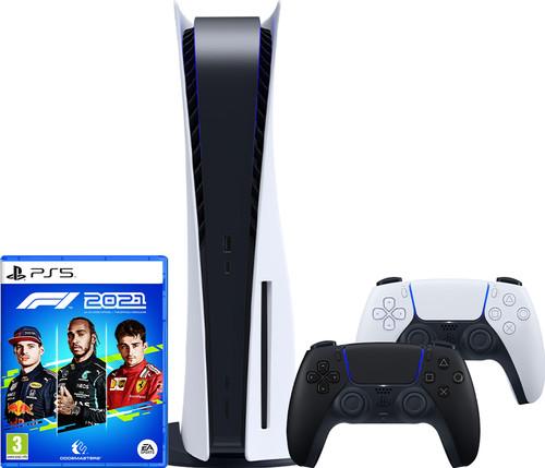 PlayStation 5 + F1 2021 + DualSense Controller Midnight Black Main Image