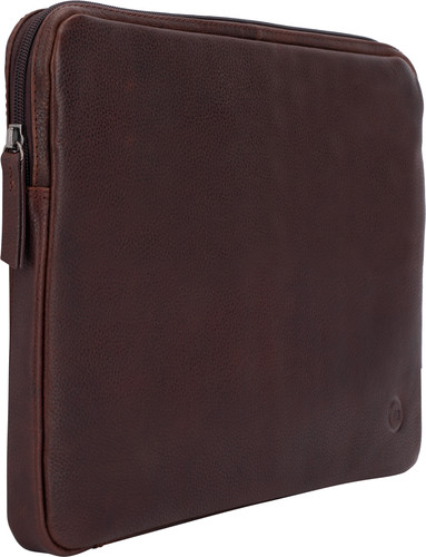 BlueBuilt 13-inch Laptop Cover Width 30 - 31cm Leather Brown Main Image