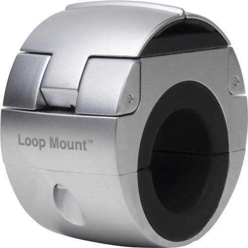 Loop Mount Universele Telefoonhouder Fiets Stuur Klem Zilver Main Image