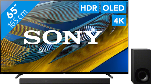 Sony Bravia OLED XR-65A80J (2021) + Soundbar Main Image