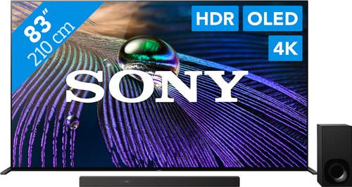 Sony Bravia OLED XR-83A90J (2021) + Soundbar Main Image