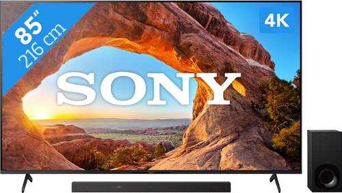 Sony KD-85X85J (2021) + Soundbar Main Image