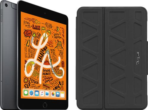 Apple iPad Mini 5 256 GB Wifi + 4G Space Gray + Targus Pro-Tek Book Case Main Image