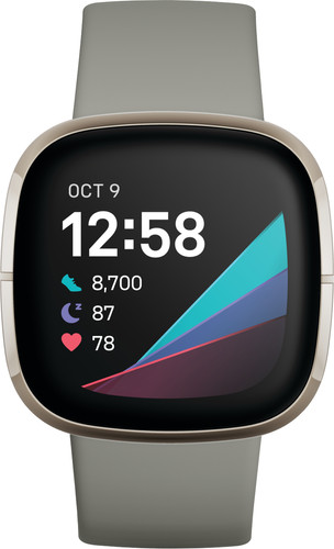 Fitbit Sense Groen/Zilver Main Image