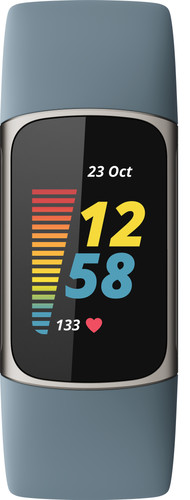 Fitbit Charge 5 Blauw/Zilver Main Image