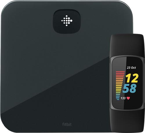 Fitbit Charge 5 Zwart + Fitbit Aria Air Zwart Main Image