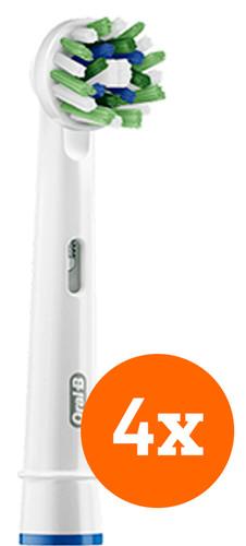 Oral-B CrossAction Brush Attachment 4 units Main Image