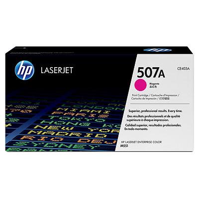 HP 507A LaserJet Toner Magenta (CE403A) Main Image