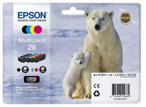 Epson 26 L 4-Color Pack (C13T26164010) Main Image