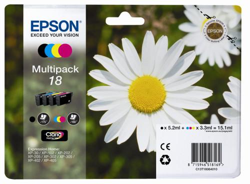 Epson 18 L Multipack (4 colors) C13T18064010 Main Image