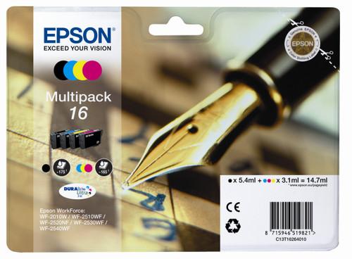 Epson 16 L Multi-pack (4 color) C13T16264010 Main Image